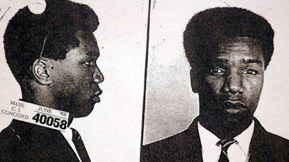 Foto policial de Michael Sumpter tomada en junio de 1968
