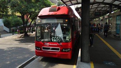 Metrobús de la CDMX (Foto: especial)
