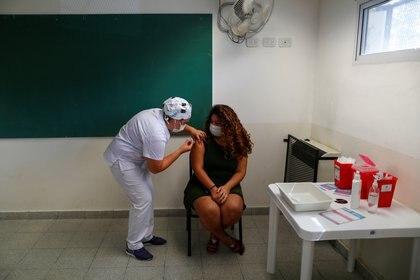 Este desarrollo no posee ningún elemento del coronavirus en su composición REUTERS/Agustin Marcarian