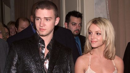 Britney Spears y Justin Timberlake (Getty)