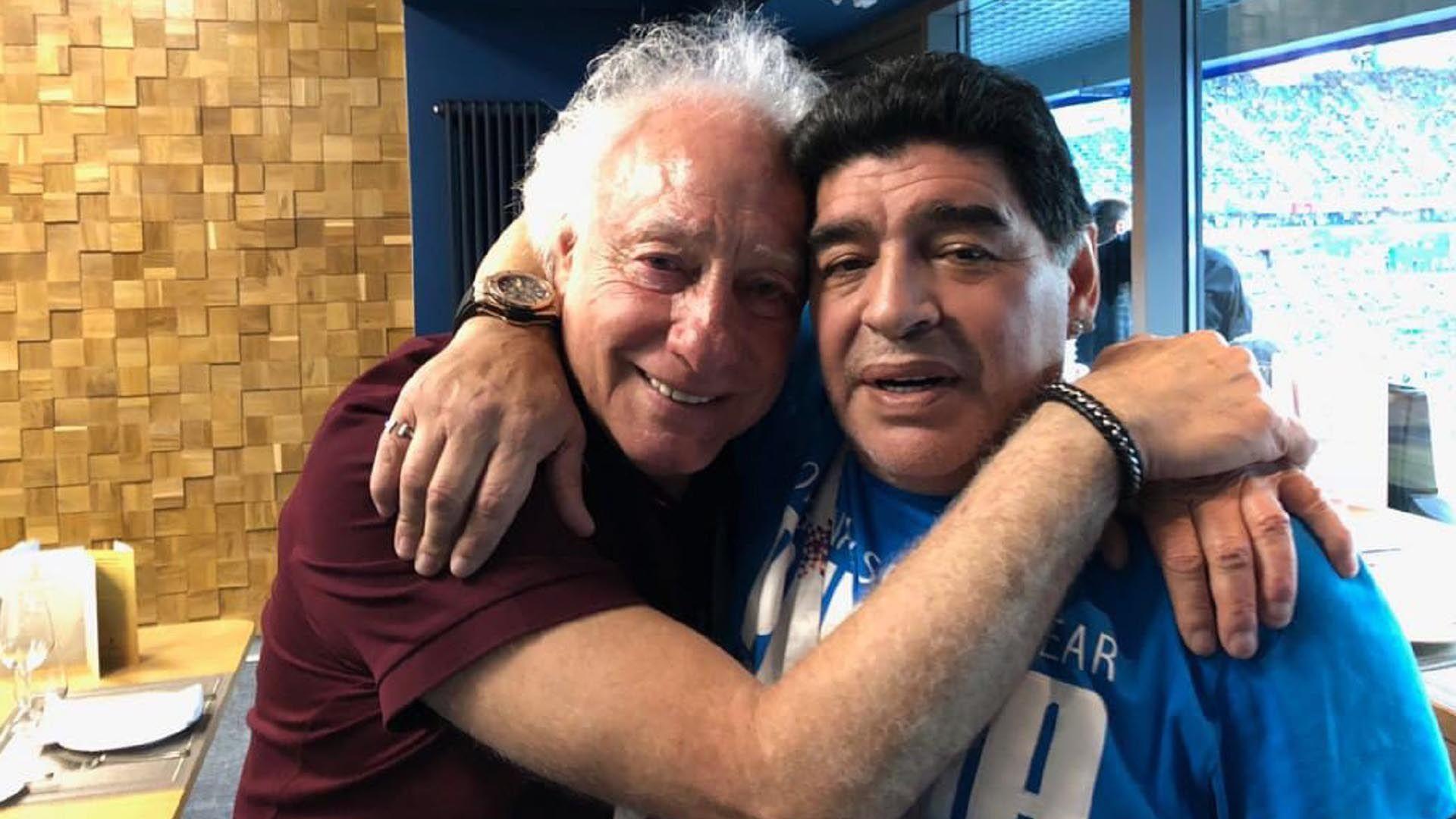 Cóppola y Maradona se reconciliaron tras la muerte de Don Diego, el padre del jugador