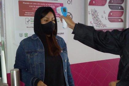 Será obligatorio uso de cubrebocas, aplicación de gel antibacterial, así como la toma de temperatura (Foto: Twitter@INEMexico)
