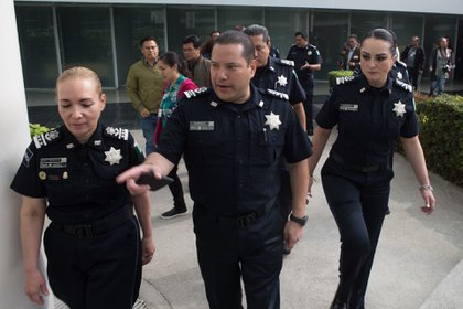 La FGR inició una investigación en contra de la Policía Federal, de la que Orta formaba parte, por un fraude en el que durante seis años, sin interrupción, se registró un desvío de recursos (Foto: Tercero Díaz / Cuartoscuro)