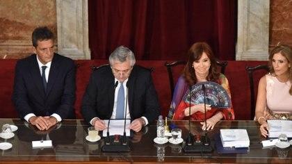 Apertura de sesiones ordinarias antes de la pandemia (Franco Fafasuli)