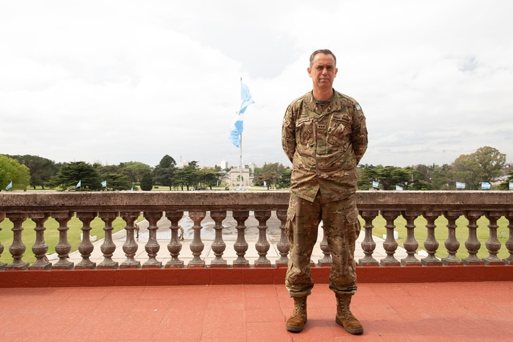 Coronel Alejandro Liberatori Jefe Dpto. Académico (Gastón Taylor)