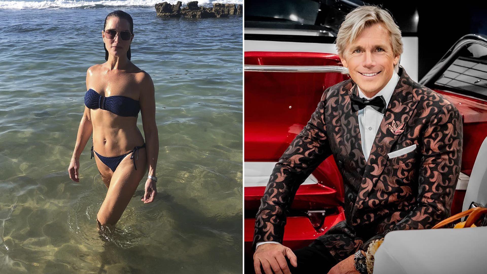 Brooke Shields y Christopher Atkins cuarenta años después de La laguna Azul