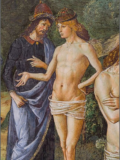 """Una de las imágenes del libro """"Sistine Chapel"""" reproducidas gracias a un ambicioso proyecto fotográfico (Museos Vaticanos)"""