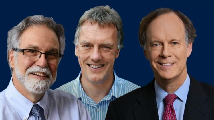 Los tres científicos ganadores del Nobel de Medicina 2019