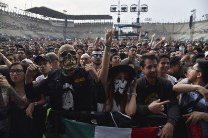 En México se busca impulsar dos iniciativas para reactivar los eventos sin poner en riesgo a los artistas o al público (FOTO: MARIO JASSO /CUARTOSCURO)