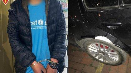 La Policía capturó a uno de los atacantes.
