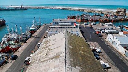 El puerto de Mar del Plata