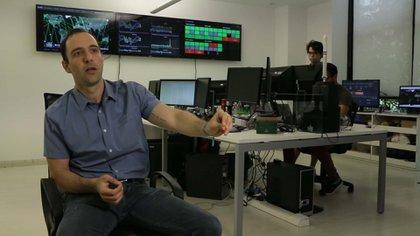 Kargieman, en su oficina del barrio de Palermo. Tiene otras en Israel, Estados Unidos, España y Uruguay