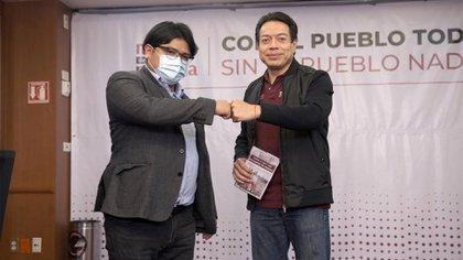 Gibrán Ramírez mostró su respaldo a Mario Delgado a través de su cuenta de Twitter (Foto: Twitter@gibranrr)