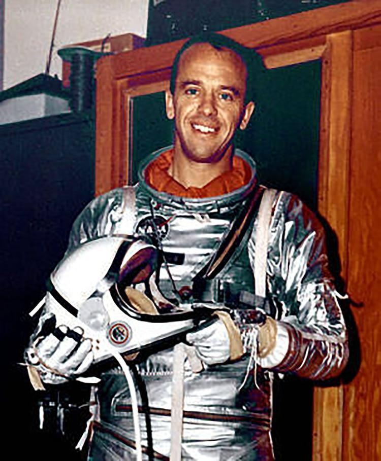 Alan Shepard, primer astronauta estadounidense en el espacio
