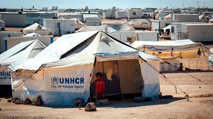Campo de refugiados Zaatari, Jordania