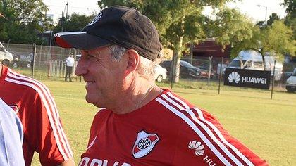 Gabriel Rodríguez descubrió a varias de las principales figuras de River (Prensa River Plate)