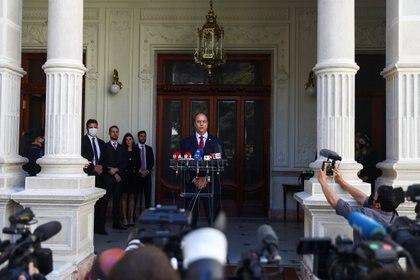 El Gobernador de Río de Janeiro, ahora destituido, Wilson Witzel. REUTERS/Pilar Olivares