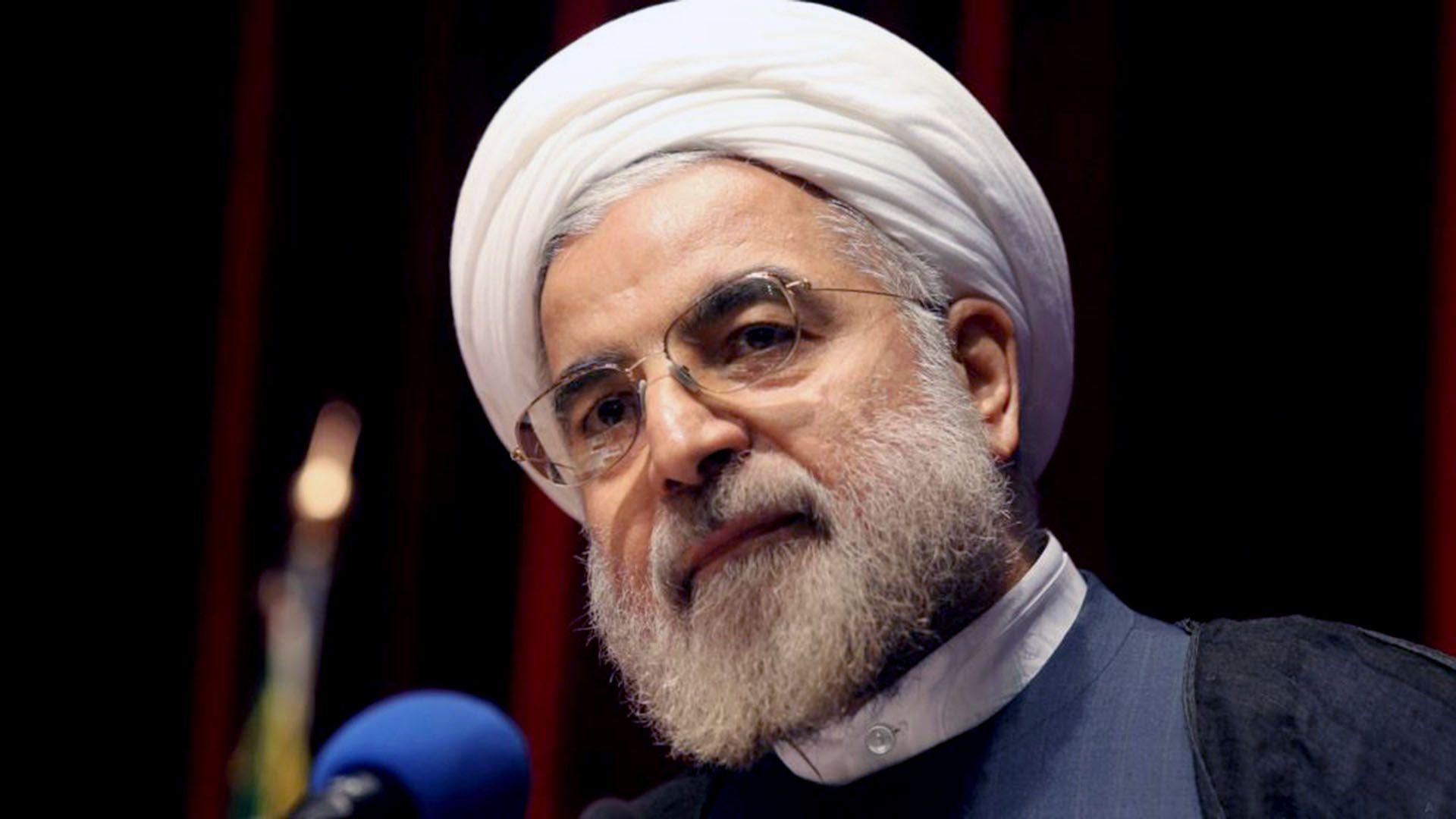 Hassan Rouhani, presidente de Irán (AFP)