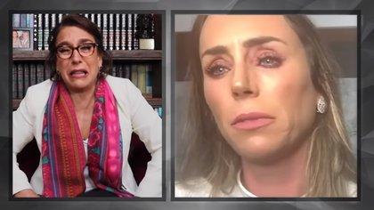 Tanto Inés como Fernanda comentaron, entre lágrimas, que en algún momento temieron por las secuelas de la intervención. (Foto: captura de pantalla de canal de Fernanda Familiar)
