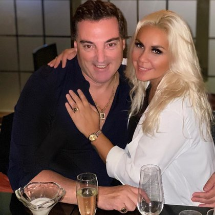 Verónica Ojeda está en pareja con Mario Baudry