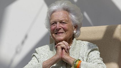 Barbara Bush (AP)