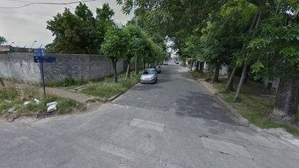 La esquina de Formosa y Salala, donde ocurrió el crimen (Street View)