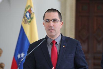 En la imagen, el canciller de Venezuela Jorge Arreaza. EFE/Raúl Martínez/Archivo