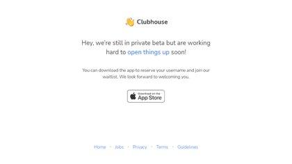 Clubhouse, por ahora solo disponible en iOS, y bajo un modelo de invitación
