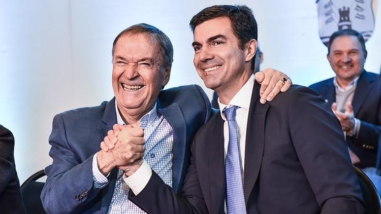 Juan Schiaretti y Juan Manuel Urtubey, gobernadores de Córdoba y Salta