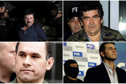 existe una larga lista de narcotraficantes mexicanos que han sido procesados en los juzgados federales de Estados Unidos (Foto: Archivo)