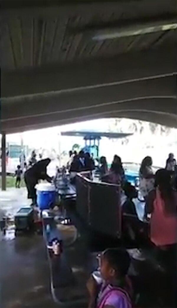 Los niños estaban en una actividad escolar en Florida