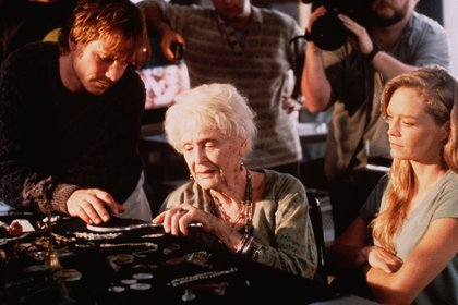 "Gloria Stuart en ""Titanic"", 1997 (Foto: Merie W Wallace/20th Century Fox/Paramount/Kobal/Shutterstock)"
