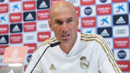 El entrenador se centró en su plantilla EFE/Rodrígo Jiménez