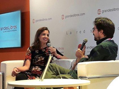 Julieta Mortati habla de La lengua alemana