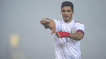 "Jiménez es el máximo goleador del TRI en la era de ""Tata"" Martino (Foto: Twitter/ @miseleccionmx)"
