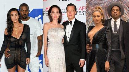 Kim Kardashian, Kanye West, Angelina Jolie, Brad Pitt, Beyoncé y Jay Z tienen algo en común: han intercambiado lujosos regalos