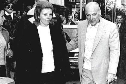 Isabel Perón y José López Rega