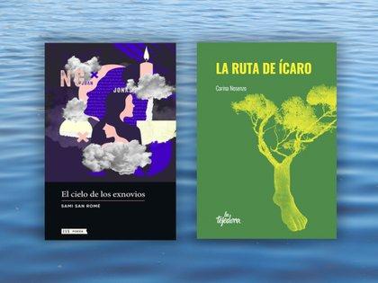 """""""El cielo de los exnovios"""" de Sami San Romé y """"La ruta del ícaro"""" de Carina Nosenzo"""