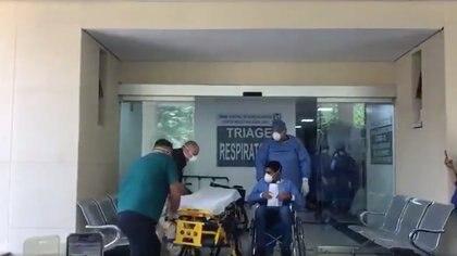Se reporta que la ocupación hospitalaria en la capital del país es de 75% en promedio (Foto: Archivo)