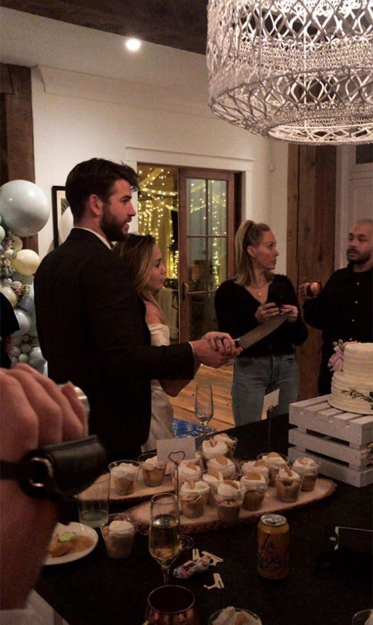 El casamiento secreto de Miley Cyrus y Liam Hemsworth