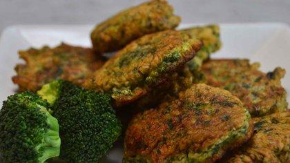 Croquetas de verdura con las que tenemos en la heladera, todas sirven