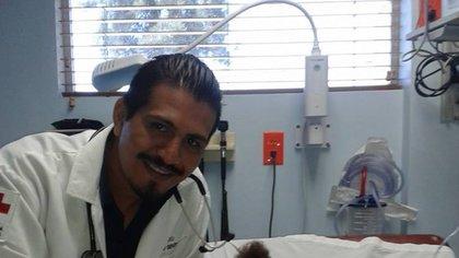 David Armando Suayfeta Méndez was murdered Saturday morning (Picture: Facebook / David Suayfeta Méndez)