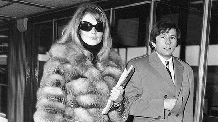 Sharon Tate y Roman Polanski en los años 60
