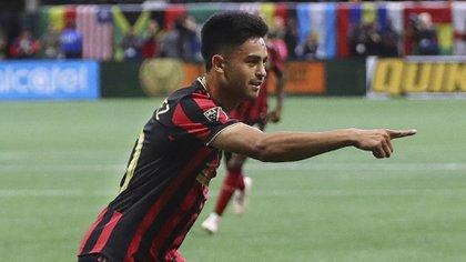 La FIFA intimó al Atlanta United por no pagarle el saldo correspondiente al Mecanismo de Solidaridad al Club Empleados de Comercio de Mendoza por el Pity. (Curtis Compton/Atlanta Journal-Constitution via AP)