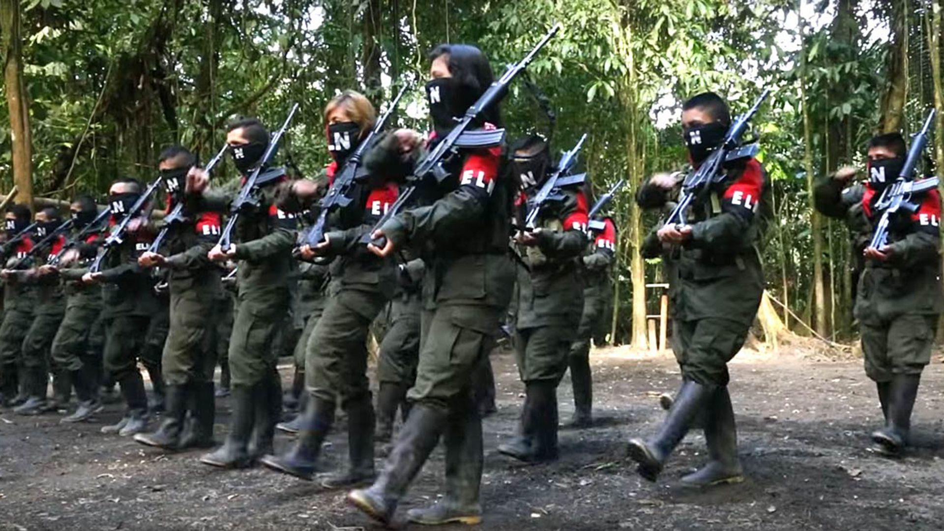 Terroristas del Ejército de Liberación Nacional (ELN)