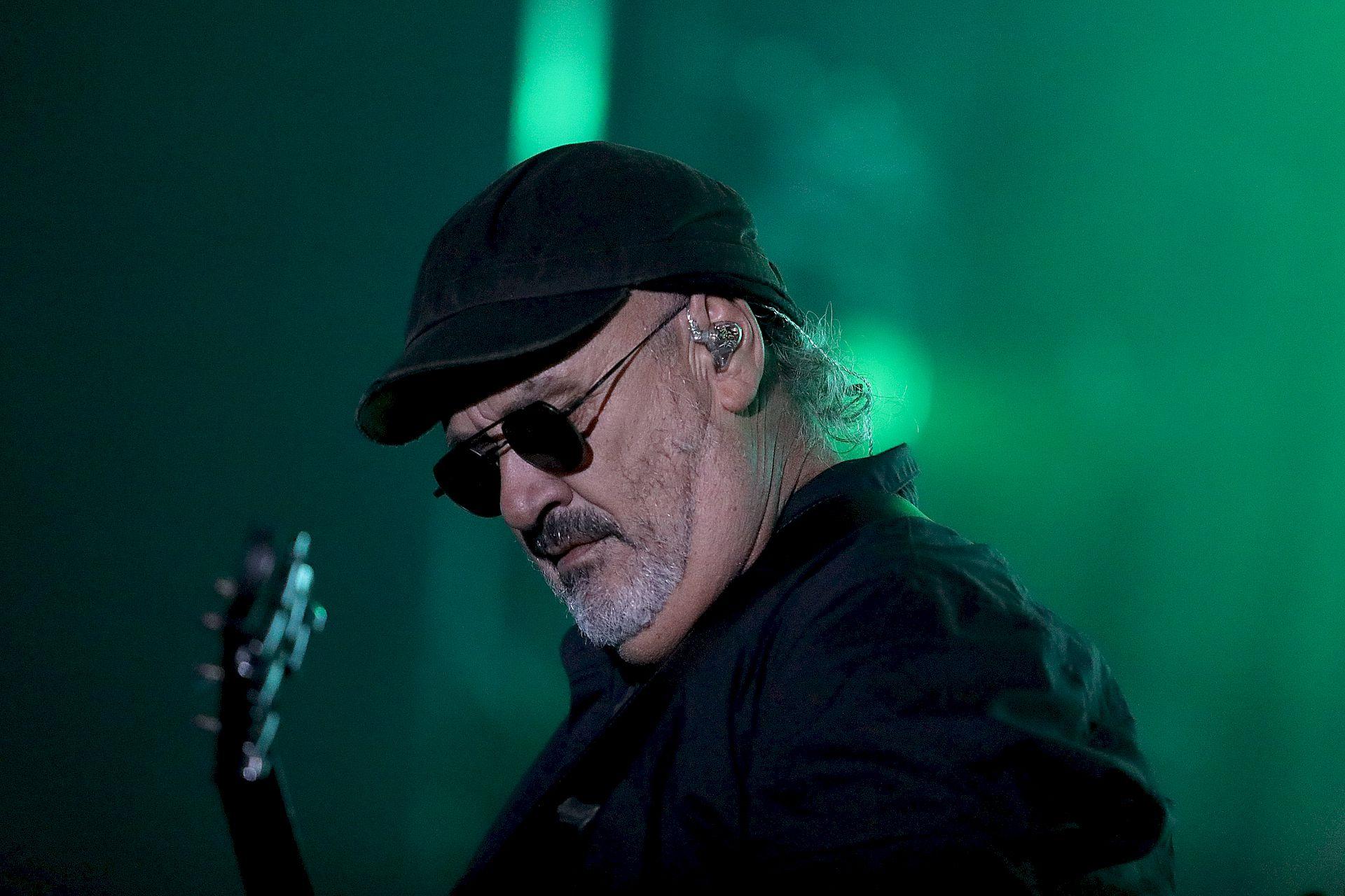 Germán Daffunchio, de Las Pelotas: la única banda que tocó en todas las ediciones de Cosquín Rock (Mario Sar)