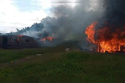 El Cártel de Sinaloa presumió su poderío en Coyuca, Guerrero, donde quemó casas y robó ganado (Foto: Especial)