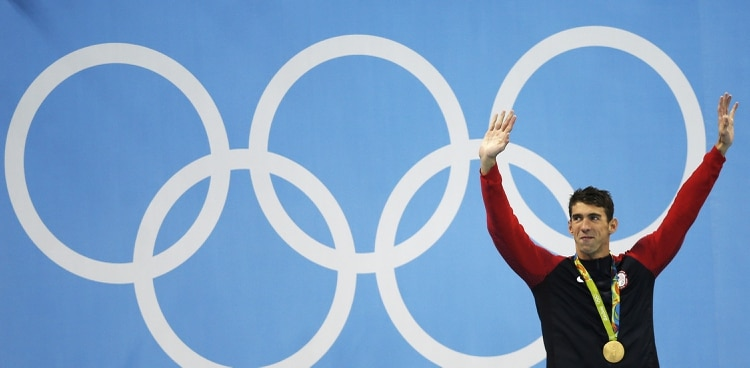 Michael Phelps compitió por última vez en los Juegos Olímpicos de Río 2016 (Shutterstock)