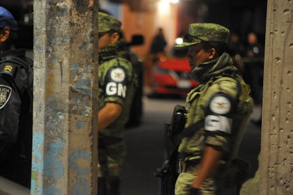 Elementos de la Guardia Nacional en calles de la Ciudad de México (Foto: Cuartsocuro)