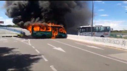 En Neiva se presentaron dos hechos vandálicos aislados de la pacífica jornada de paro nacional